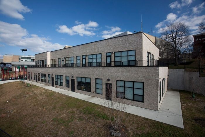 Vanguard modular building for education, Community College, Bronx, New York