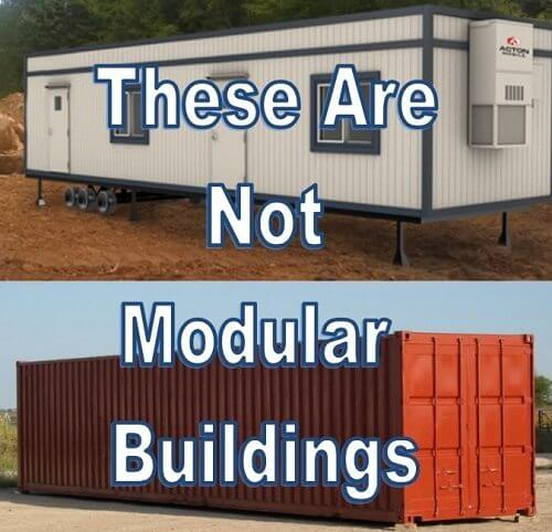 Not a storage container or mobile office