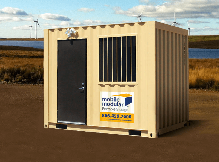 Portable Storage 10-foot storage container